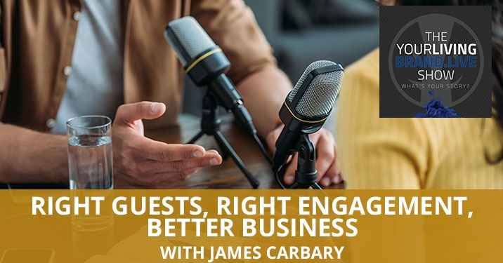 LBL James Carbary | Podcast Guest Engagement